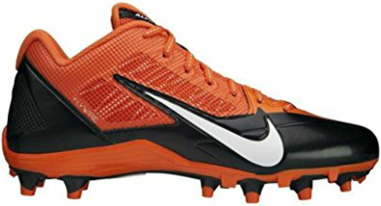 Nike Mens Alpha Low Pro D Football Cleats (14, orange Black Bengals colors)