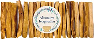 Alternative Imagination Premium Palo Santo Holy Wood Incense Sticks, for Purifying, Cleansing, Healing, Meditating, Stress Relief. 100% Natural and Sustainable, Wild Harvested. (20)
