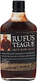 Rufus Whiskey Maple BBQ Sauce, 453.59 g