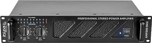 AMP300-MKII - Ibiza Sound - AMPLIFICATEUR DE SONORISATION 2 X 240W
