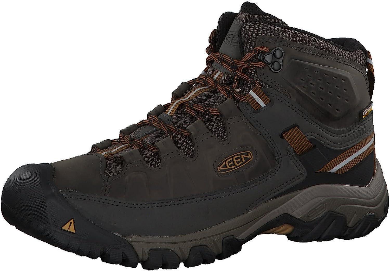 KEEN Men's Targhee Iii Tucson Mall Mid Height Hiking Waterproof Excellent Boot