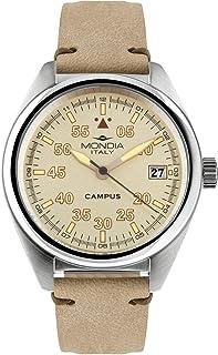 Mondia Campus Tutor Mens Analog Japanese Quartz Watch with Leather Bracelet MI748-2CP