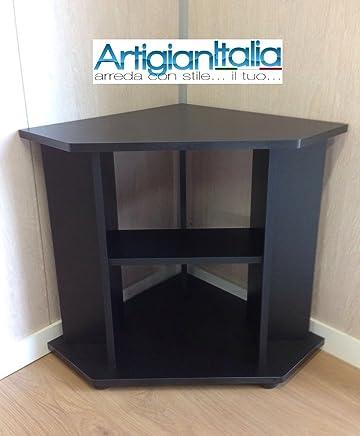 Porta Tv Angolare Moderno.Amazon It Porta Tv Ad Angolo