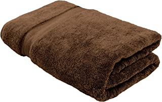 Cotton & Calm Exquisitely Plush and Soft Extra Large Bath Towel (Chocolate/Dark Brown, 35