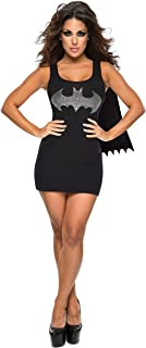 Rubie's DC Superheroes Batgirl Adult Rhinestone Tank Dress With Removable Cape