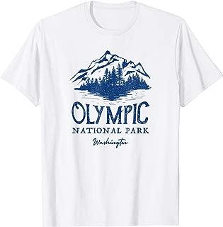 Vintage Olympic National Park Washington T-Shirt