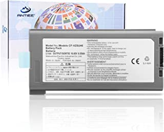 ANTIEE Compatible CF-VZSU46 Laptop Battery Replacement for Panasonic Toughbook CF-30 CF-31 CF-53 CF-VZSU46AU CF-VZSU71U CF-VZSU72U CF-VZSU1430U CF-VZSU46 CF-VZSU46U 10.65V 8550mAh