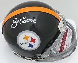 mean joe greene signed helmet
