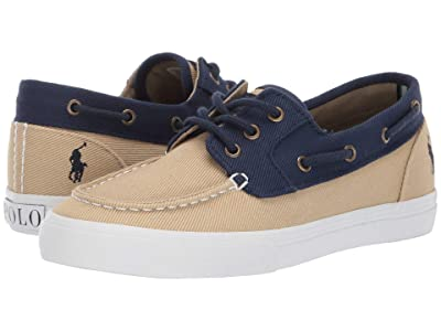 Polo Ralph Lauren Kids Bridgeport (Big Kid) (Khaki/Navy Heavy Twill/Navy Pony) Boy