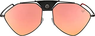 Vysen Letec Aviator Style Futuristic Sunglasses, Stainless Steel Frame, Luxury Eyewear Handmade in Italy For Men and Women
