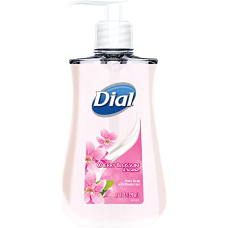 Dial Liquid Hand Soap, Cherry Blossom & Almond, 7.5 Fluid Ounces