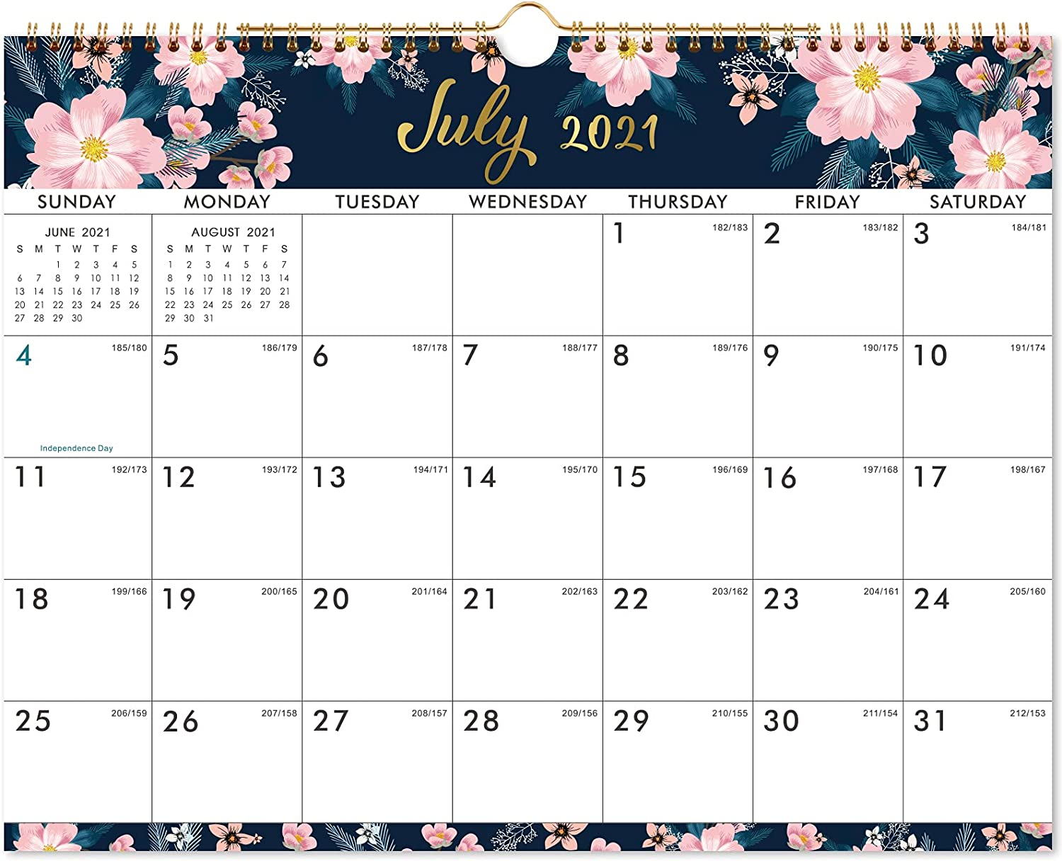 Buy 20 20 Calendar   Wall Calendar with Colorful Monthly Page ...