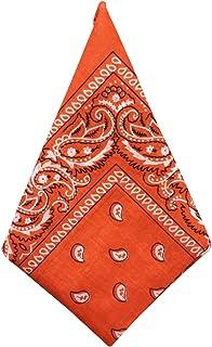 Jueshanzj Men Paisley Print Scarf Wristband Head Wrap Bandana