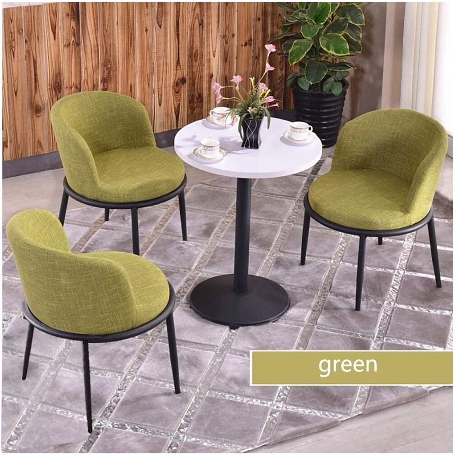 ZHZH NEW Dining Max 73% OFF Table and Chair Room Living Set