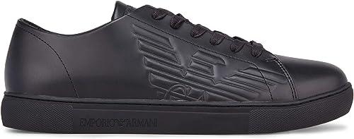 Emporio armani sneakers con lacci da uomo X4X238-XF332-00002