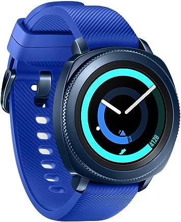 Samsung Gear Sport Smartwatch - Blue (Renewed)
