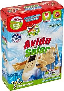 Science4You-Science4you Avión Solar-Juguete científico y Educativo (80001524)