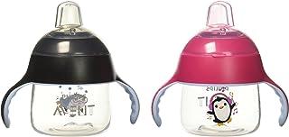 Philips飞利浦AVENT 2件装学饮杯 粉红色/黑色 7盎司