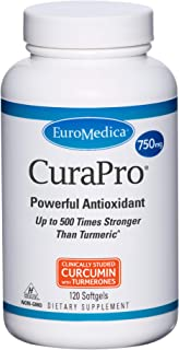 EuroMedica - CuraPro 750 mg 120 softgels [Health and Beauty]