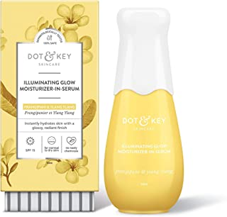Dot & Key Illuminating Glow Face Serum SPF 15, Brightening Face Serum For Glowing Skin - Paraben Free
