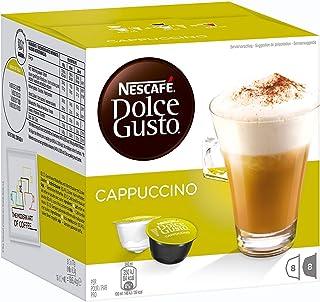 Nescafe Dolce Gusto Cappuccino Coffee Capsules - 16 Capsules