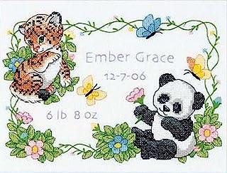 Dimensions B/REC Baby Animals, Multi-Colour