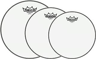 Remo 10/12/14 Ambassador Clear Drumhead (3 Pack Bundle)