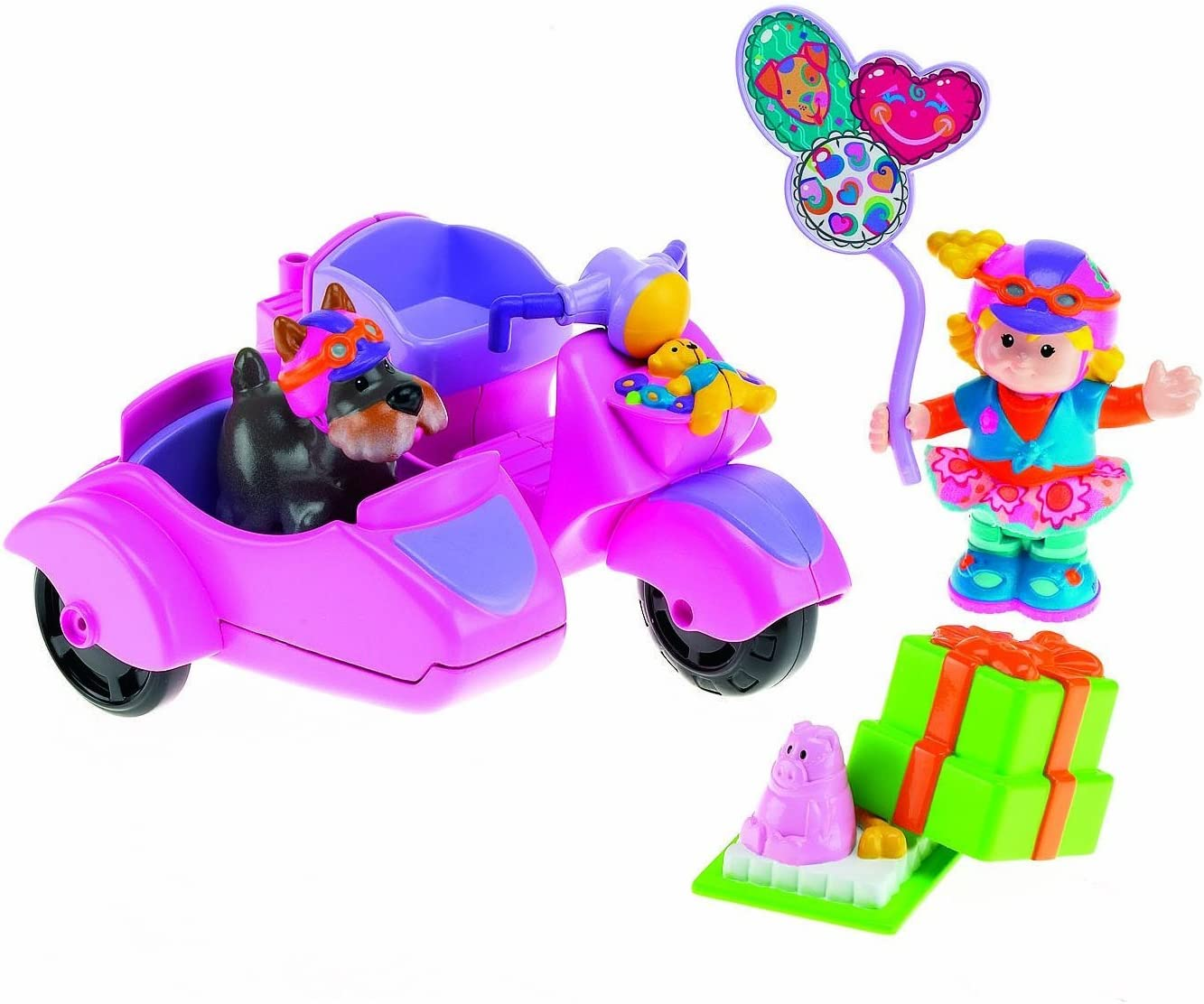Fisher Price Little People Sarah Lynn And Her Camping Adventure