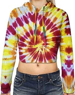 Womens Slim Fit Hoodie Crop Top Custom Office Hooded Sweater