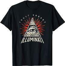 Illuminati Trust Nobody No One, All Seeing Eye Of Providence T-Shirt