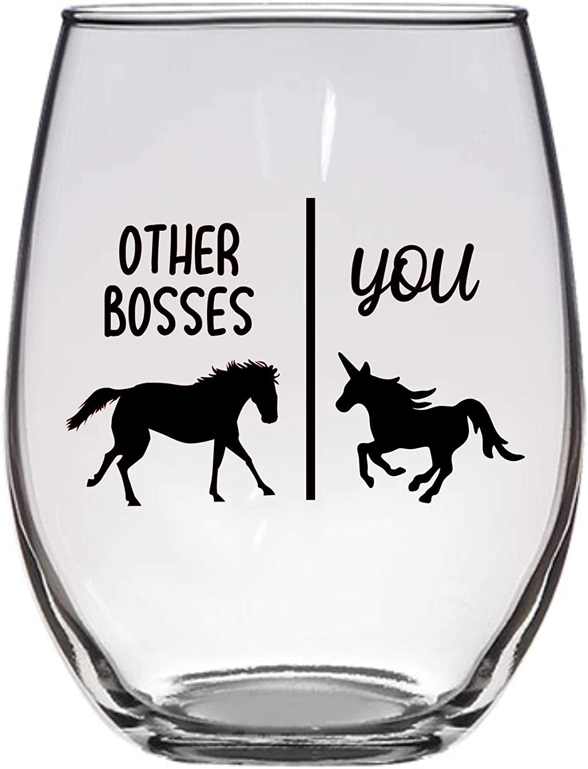 Other Bosses You Wine Glass 21 Oz M Boss Philadelphia Mall Unicorn with Same day shipping Horse and