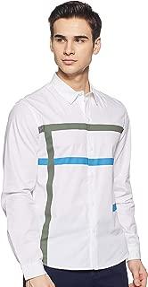 Colt Men's Printed Slim fit Casual Shirt