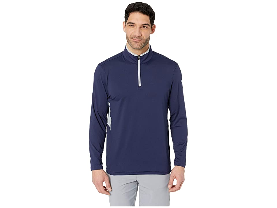 PUMA Golf - PUMA Golf Rotation 1/4 Zip  (Blue)