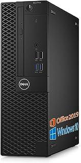 DELL デスクトップPC 3060/MS Office 2019/Win 10 Pro/Core i5-8400/HDMI/wajunのWIFI/Bluetooth/DVD-RW/8GB/1TB HDD (整備済み品)