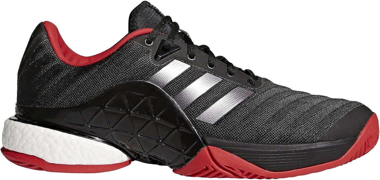 Adidas Herren Barricade 2018 Boost Tennisschuhe, Schwarz, 54 2 3 EU