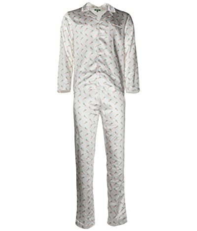 Carrots By Anwar Carrots All Over Carrots Pajama Set (White) Men