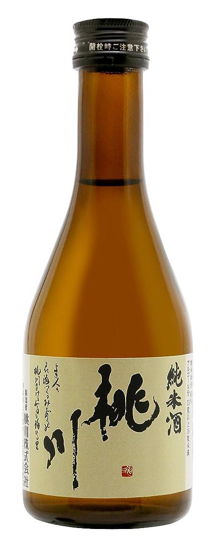 中級ピッチャーちなみに桃川 純米酒 300ml [ 日本酒 青森県 ]