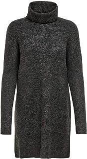 Only Onljana L/S Cowlneck Dress Wool Knt Vestido para Mujer