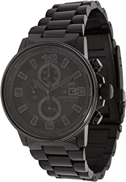 d3b654d9d43 Black Ion Plated. 409. Citizen Watches. CA0295-58E Eco-Drive Nighthawk Watch