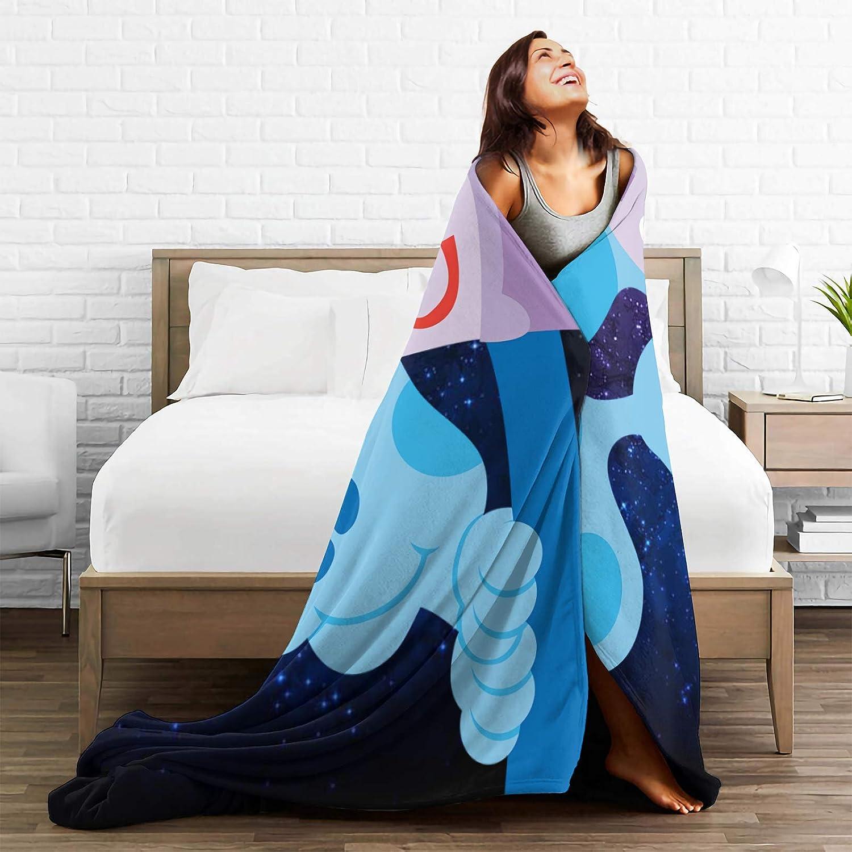 50x40Blanket for Kids, Blues Steve Clues Dog Blue Dog Flannel Sherpa Fleece Blanket Throw Sofa Bed Couch Living Room Soft Cozy Warm Anti-Ball for Best Friend Kids Women Men