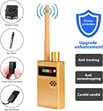 Eilimy Anti-spy Wireless RF Signal Detector Set [Upgrade Enhanced] Bug GPS Camera Signal Detector, for Detecting Hidden Camera GPS Tracker Wireless Signal Detector(Ultra-high Sensitivity