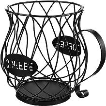 Hemoton Ferro Titular Pod Café Caneca Forma de Metal Cesta De Armazenamento Organizador para Balcão De Café Pod Máquina de...