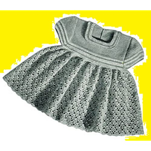 Amazon Com Crochet Vintage Little Girl S Dress Pattern Download
