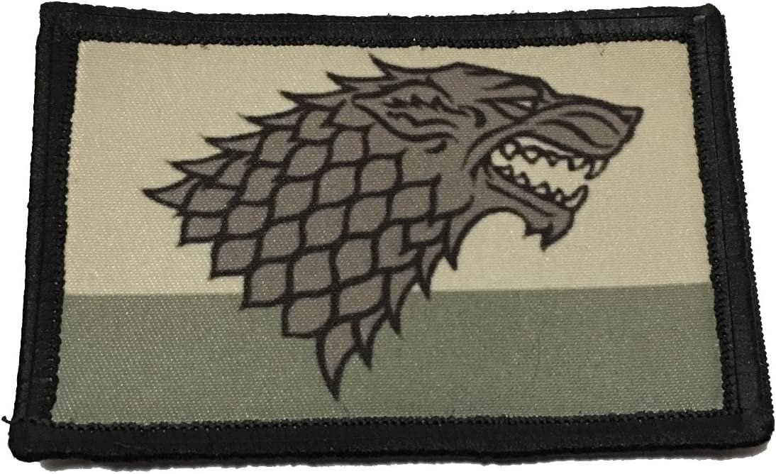 Distressed Game of Thrones House Discount List price mail order Stark Patch Sigil Morale Milita