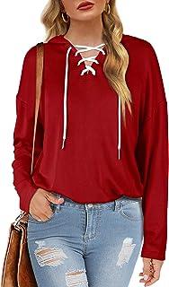 Women's Hoodies Pullover Long Sleeve Sweatshirts...