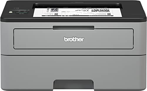 Brother Compact Monochrome Laser Printer, HL-L2350DW, Wireless Printing, Duplex Two-Sided Printing, Amazon Dash Reple...