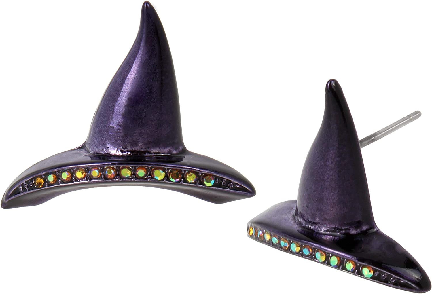 Betsey Johnson Witches Hat Stud Earrings