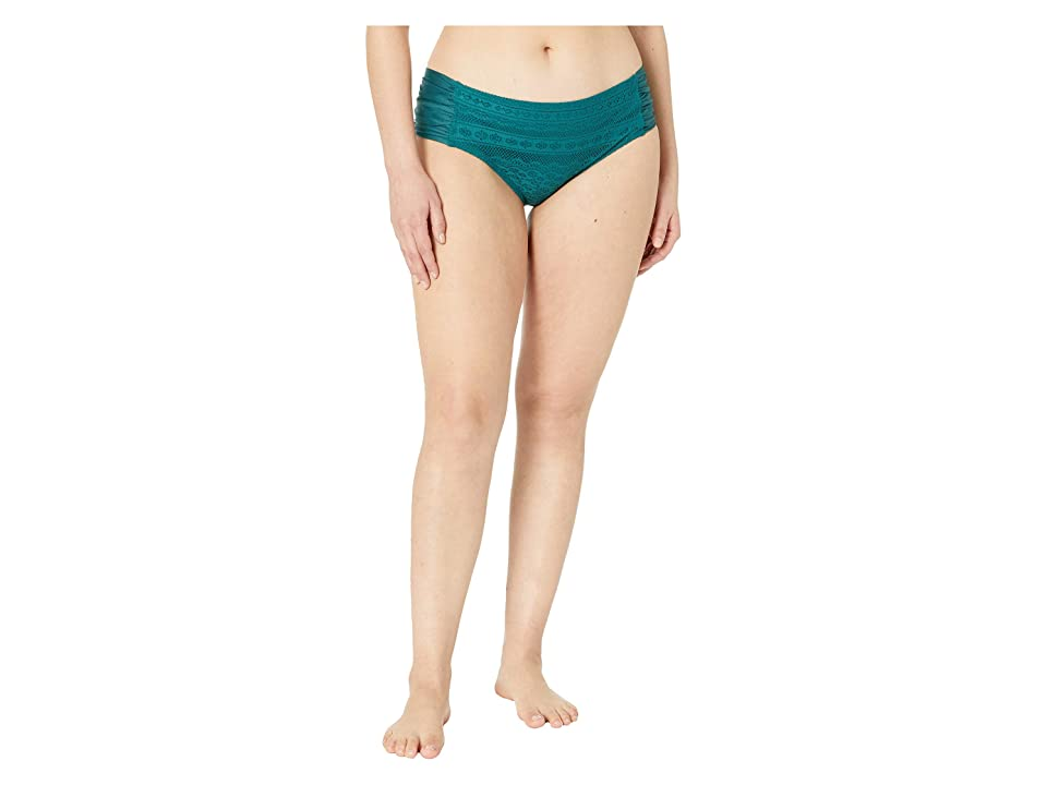 BECCA by Rebecca Virtue Plus Size Color Play Hipster Bottoms (Forest) Women