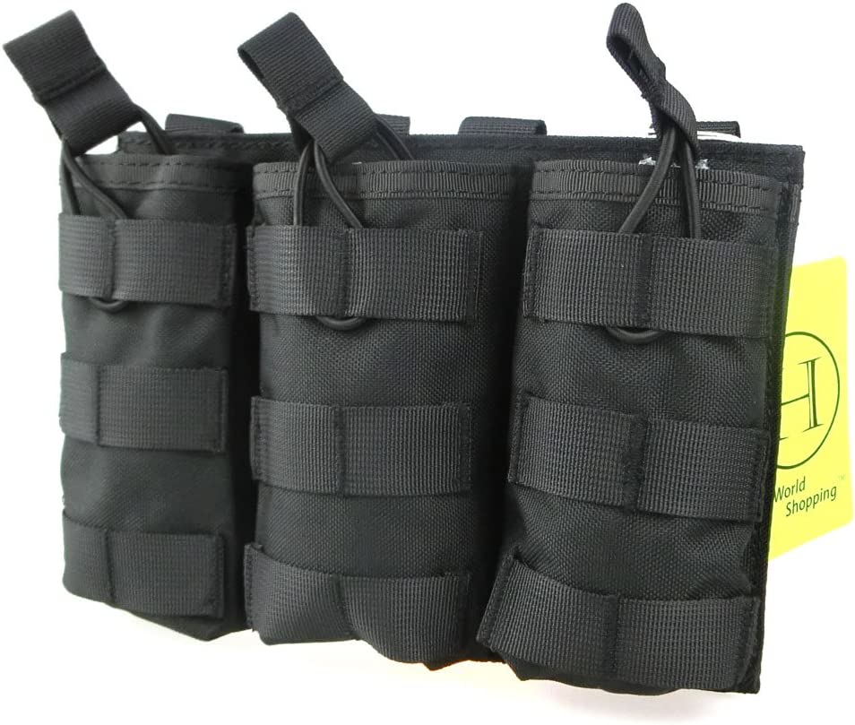 H World Shopping Tactical Molle Magazine Pouch Open Top Mag Hold