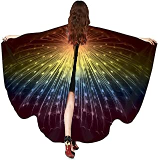 EONGERS Halloween/Party Butterfly Wings for Women, Butterfly Shawl Fairy Ladies Cape Costume Accessory